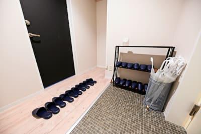 玄関です - 札幌JOW2ビル 100m2の広々多目的スペースの室内の写真
