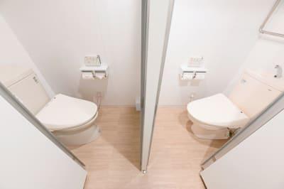 トイレは2つ - 札幌JOW2ビル 100m2の広々多目的スペースの設備の写真