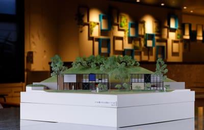 店内展示の建築模型 オームズ邸 - アーキテクチャカフェ棲家 カフェ店内テーブルスペース貸のその他の写真