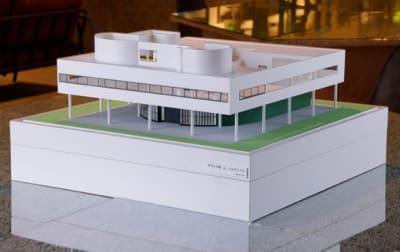 店内展示の建築模型 イームズ邸 - アーキテクチャカフェ棲家 カフェ店内テーブルスペース貸のその他の写真