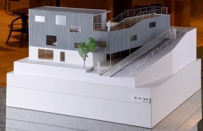 店内展示の建築模型 鉄の家 - アーキテクチャカフェ棲家 カフェ店内テーブルスペース貸のその他の写真