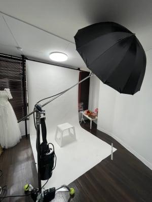 背景紙のレンタルもあります。 - STUDIO AIR-KOBE- 神戸最安レンタルスタジオ!!の室内の写真
