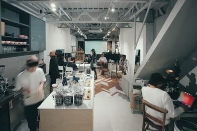 カフェ - ReHope うつぼ公園大阪 カフェ、ショールームの室内の写真