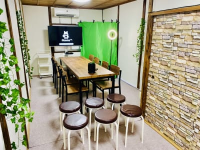 【SEIFUU蒲生】会議、撮影 【SEIFUU蒲生】撮影/会議室の室内の写真