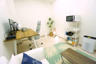 【高輪台ミニマルオフィス】 高輪台ミニマルオフィスB101の室内の写真