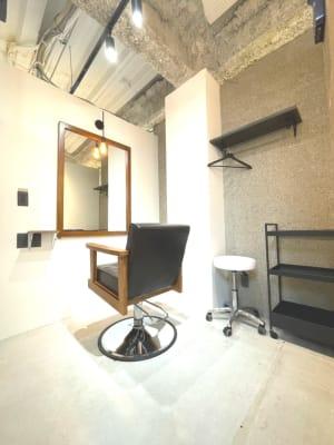 Salon Mall シェアサロンの室内の写真