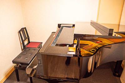 ピアノイス2台 - ワオン・スタジオ御茶ノ水 Bスタジオ(グランドピアノ4帖)の室内の写真