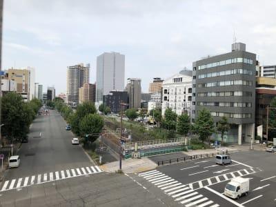 貸しスペースから千種駅方面の眺望 - ビジネススペース千種 4B会議室のその他の写真