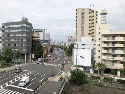 貸しスペースから名古屋駅方面の眺望(中央の大通りは桜通) - ビジネススペース千種 4B会議室のその他の写真