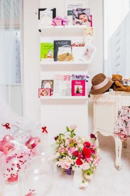 Pinky Room ピンクのフォトスタジオの室内の写真