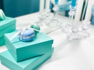 可愛い小物がたくさんあります(^^) - H.R.S.O 大須ティーブルー Heavenly 大須ブルーの室内の写真