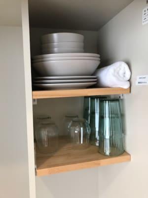 お皿やコップなどのご用意もございます。 - RIVERSUITES 多目的スペース【4階】の設備の写真