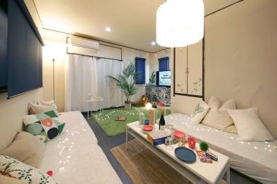 hamaca house ジャングルルームの室内の写真