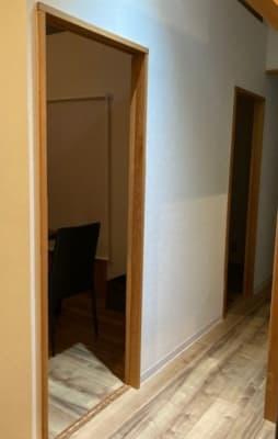 引き戸 - 占いsalonテラの椅子 レンタル・スペース④の入口の写真