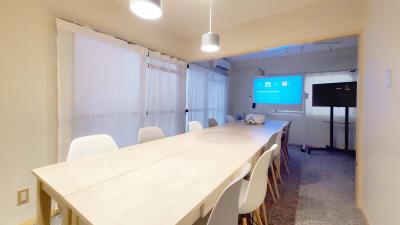 Dropby Kanayama2 OPEN SALE!銀山町会議室の室内の写真