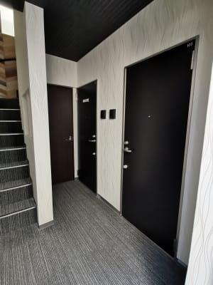 右側の扉、手前から2つ目がワークスペース101になります - ヒカリオ新宿 ワークスペース 101の入口の写真