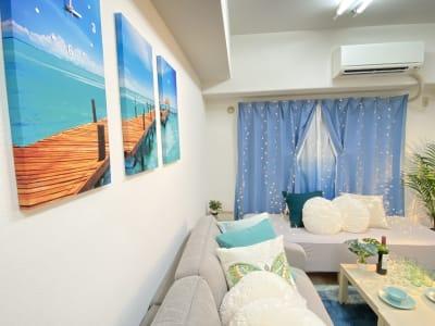 オーシャン新大阪感染対策光触媒済 誕生🤩オーシャン新大阪光触媒済の室内の写真