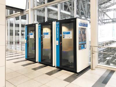 テレキューブ JR西日本 大阪駅改札外 105-01の室内の写真