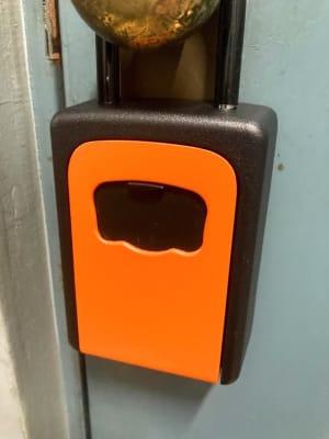 入り口ドアのキーボックス - アーバンスペース雷門 雷門二 my roomの室内の写真