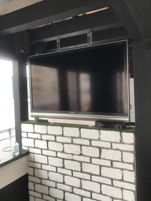 テレビも完備しております! - アミューズメントスペース +Bの設備の写真