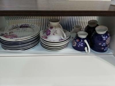 コーヒーカップ、ケーキ皿各種 - カフェ マテリオライフ 貸切カフェ・飲食店の設備の写真