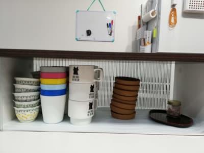 カップ・皿各種 - カフェ マテリオライフ 貸切カフェ・飲食店の設備の写真