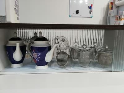 ティーポット各種 - カフェ マテリオライフ 貸切カフェ・飲食店の設備の写真