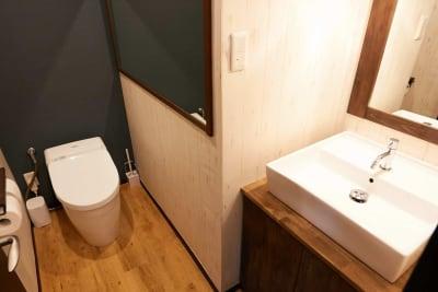 綺麗なトイレ - レンタルジムオデッサ レンタルジムオデッサ新大阪の室内の写真