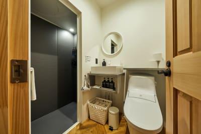 バスルーム - Daimyo6 スーペリアルーム501の設備の写真