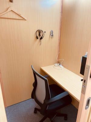 LEDライトを増設しました。 - BoothIn銀座 個室ブース(2)の室内の写真