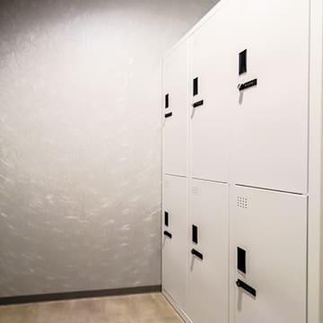 ロッカー②6個 - ポールダンススタジオUMBER スタジオA,Bの設備の写真
