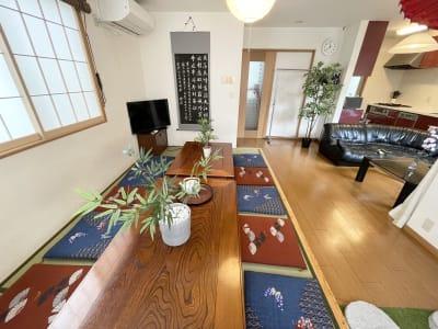 一軒家です 新大久保徒歩3分★120㎡一軒家の室内の写真