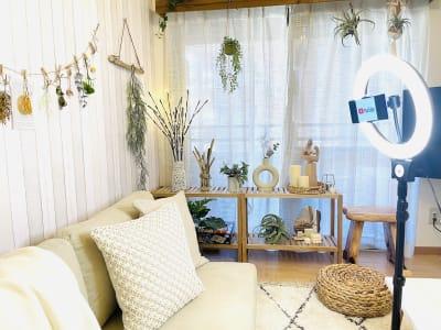 撮影にもオススメ✨ - SMILE+パラム天王寺 パーティスペースの室内の写真