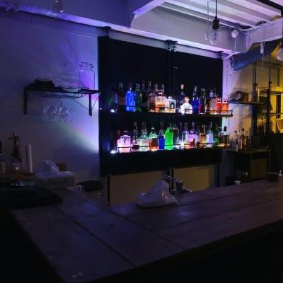 お酒のライトアップ② - TOKYO CIRCUS 5 レンタルキッチン、間貸しの室内の写真