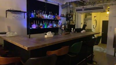 お酒のライトアップ① - TOKYO CIRCUS 5 レンタルキッチン、間貸しの室内の写真