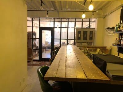 入口からの動線 - TOKYO CIRCUS 5 レンタルキッチン、間貸しの室内の写真
