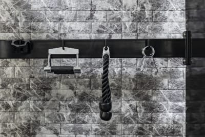 マルチスミスマシン備品類 - SKYレンタルジム新大阪 レンタルプライベートジム新大阪の室内の写真