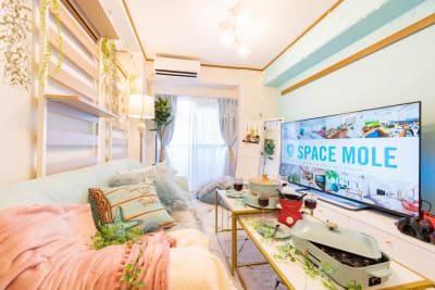 213_カタノイビーチ池袋 レンタルスペースの室内の写真