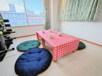 明るいお部屋です。 - のんびりスタイル高田馬場 のんびりできるお部屋の室内の写真