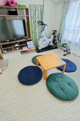 女子会+フィットネス - のんびりスタイル高田馬場 のんびりできるお部屋の室内の写真