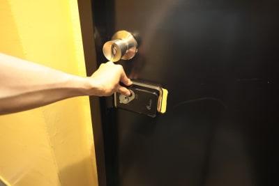テレワークスペース個室 恵比寿 テレスペ恵比寿の入口の写真