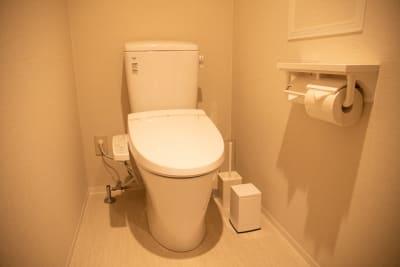 清潔なお手洗い。定期的にスタッフが見回りを行い、きれいな状態をキープしています! - THE STAY OSAKA コワーキング・多目的スペース4の設備の写真