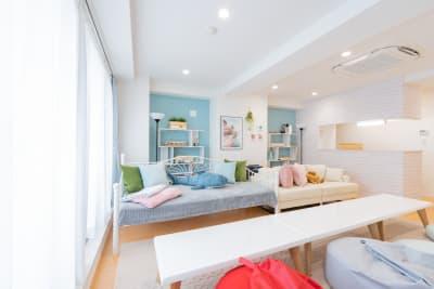 【LD ROOMs 秋葉原】 多目的スペースの室内の写真
