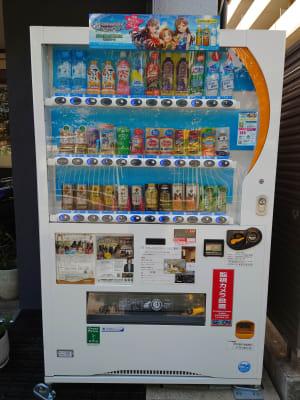 自動販売機 - OsakaStartupPark Room-2の設備の写真