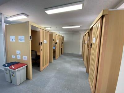 BoothIn銀座 個室ブース(2)の室内の写真
