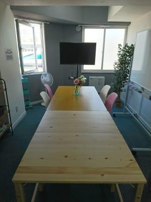 9階913号【札幌駅北口10秒】 小会議室/多目的スペースの室内の写真