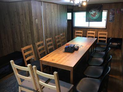 【なんば駅前】人狼ハウス大阪店【電源使用可】 4階イベントルームの室内の写真