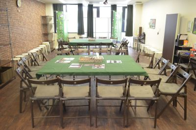 【栄駅前】人狼ハウス名古屋店【wifi,電源使用可】 メインスペースの室内の写真