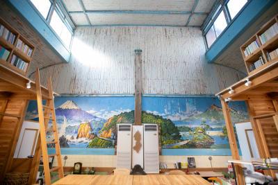 オフィス側(浴室側) - レボン快哉湯 築90年元銭湯のレンタルスペースの室内の写真