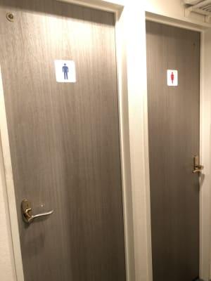 トイレ - 幡ヶ谷駅から徒歩2分の会議室 レンタル会議室 春山の設備の写真